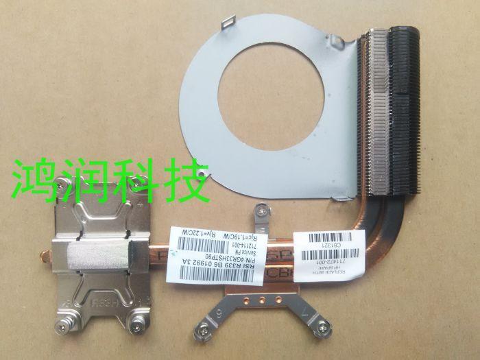 100% NOUVEAU refroidissement d'origine pour HP G4 G6 G4 G4-2000 G6-2000 dissipateur thermique 711472-001 712114-001 4GR33HSTP90 (CPU dans la carte mère)