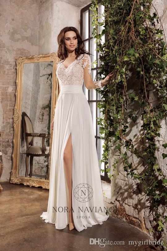 Discount Jenny Packham Wedding Dresses Corset Backless Long Sleeve ...