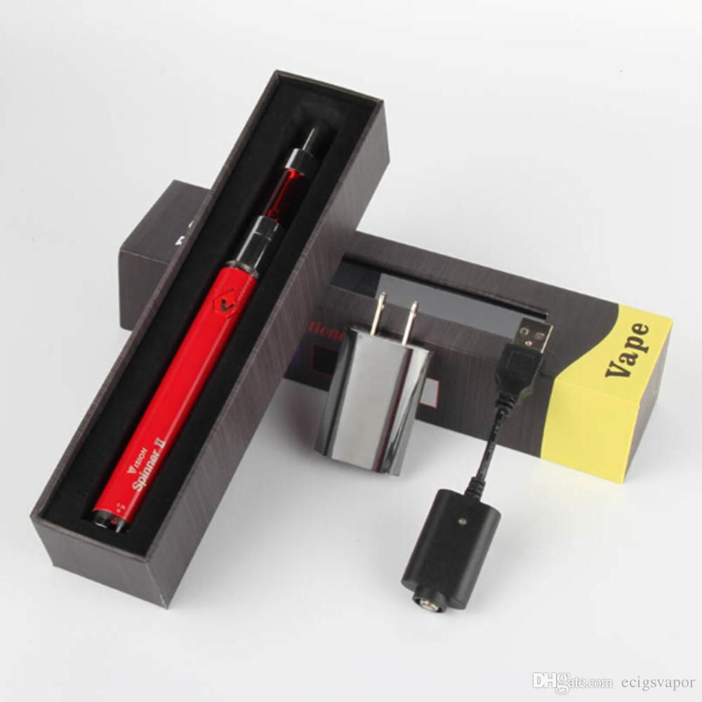Ecigarette Vision Spinner 2 ii 1600mah Battery box kit Mini protank 2 3 Vaporizer Atomizer ecig eGo Vision Spinner Starter kits