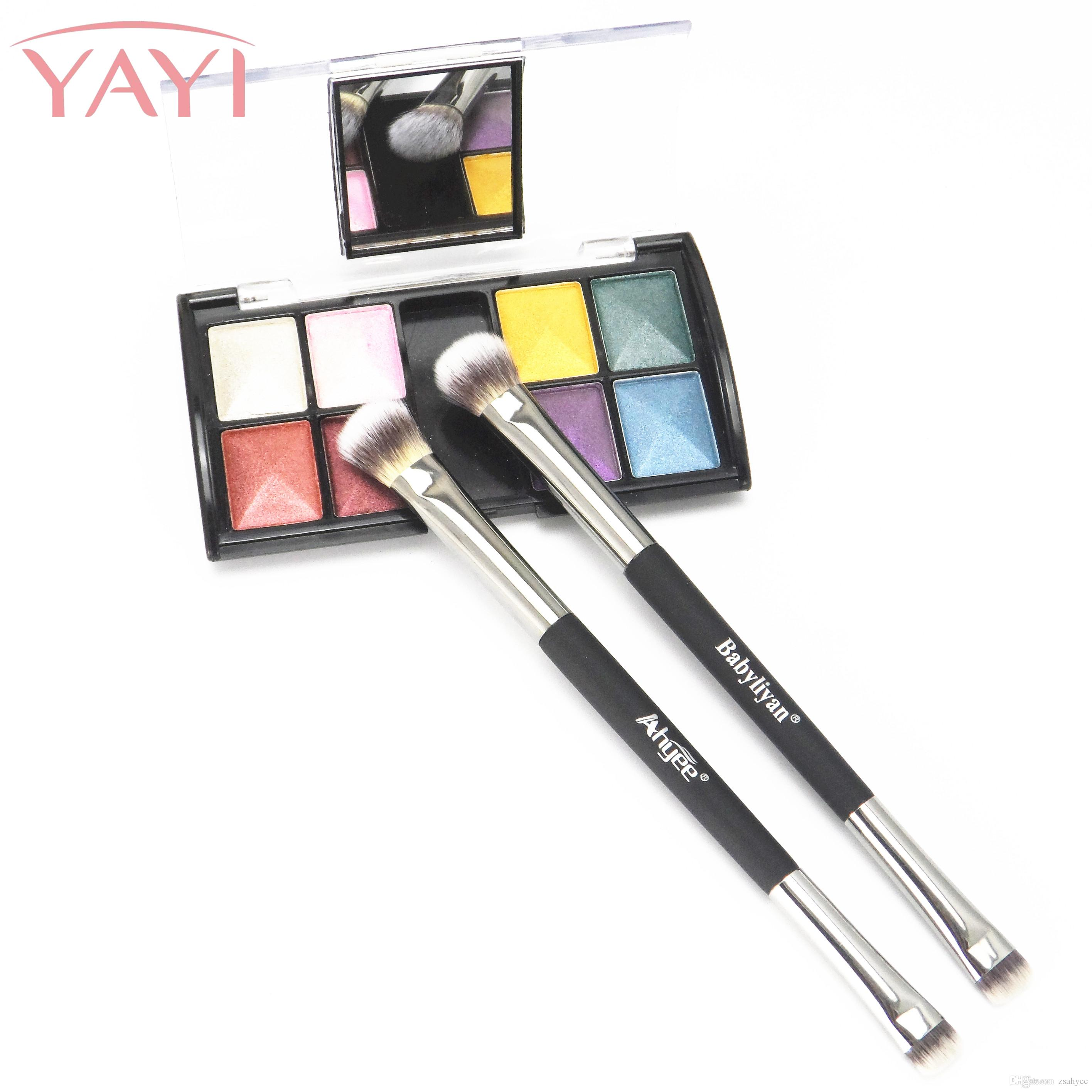 This it is cosmetics for Brand makeup brushes ULTA 2 conflated Heavenly Luxe Dual airbrush blending Eyeshadow&Eyeliner Makeup Brushes