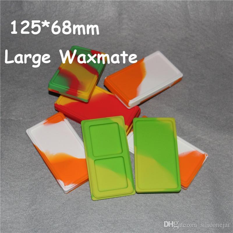 Contenitore in cera waxmate silicone di alta qualità colorato e contenitore in silicone 100% per contenitore in silicone olio cera