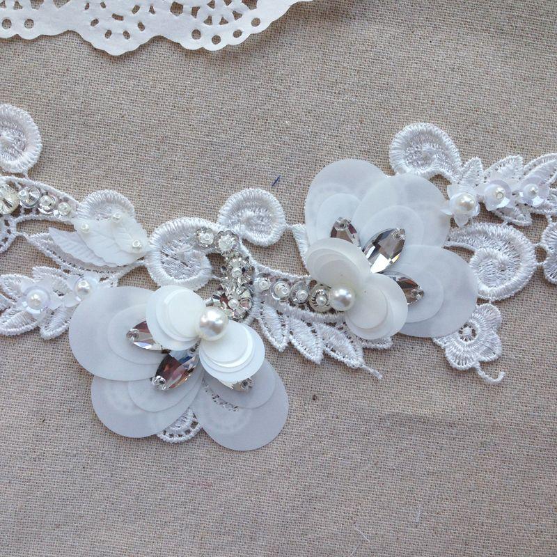 Свадебные цветы вышивка