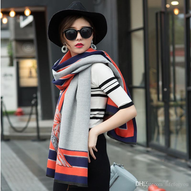 Top Ladies Women pashmina cashmere long winter scarves fashion wraps soft warm scarf cashmere pashmina party accessories, 6 colors to choose