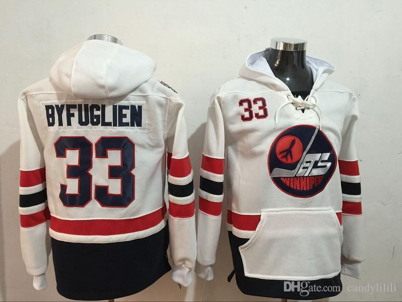 03f9558c0 Stitched Winnipeg Jets 29 LAINE 33 BYFUGLIEN 55 SCHEIFELE White Hockey  Jerseys Ice Mens Adidas ...