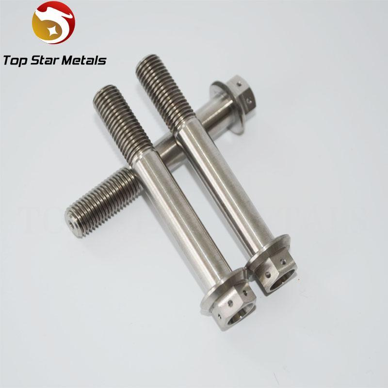 2016 Best Grade5 Titanium alloy Titanium DualDrive Bolt M10 x (1.25mm) x mmlong Race Spec