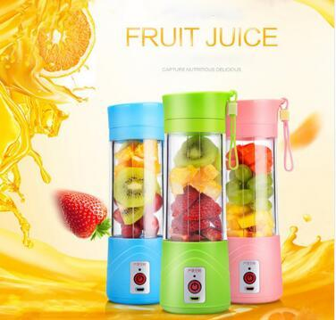 USB Rechargeable Electric Fruit Juicer Cup Blender Fruit Vegetable Tools Home Garden Kitchen Tools