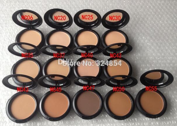 top quality High quality HOT Makeup Fix Face Powder Plus Foundation NC Series 15g
