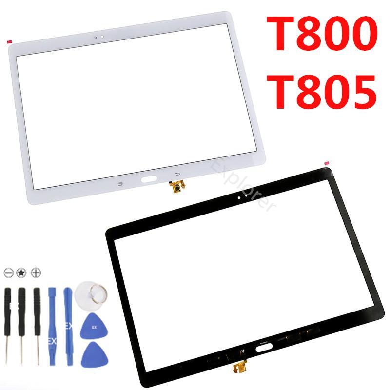 Per Samsung Galaxy tab S 10.1 T800 T805 Pro T520 T525 Nota P600 P601 P605 touch screen digitizer vetro senza lente Strumenti