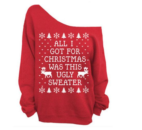 2016 Christmas series of ramps stamp size sweater
