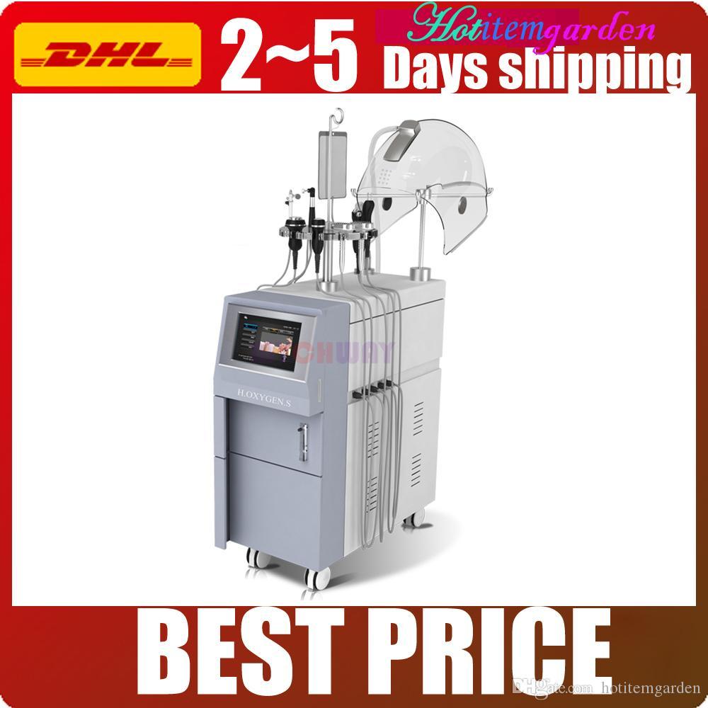 5in1 Hypeyperbaric oxigênio Water Jet RF ultra-Facial Rejuvenescimento BIO ElectricityMagic Celulite Mão Dissolver emagrecimento beleza máquina