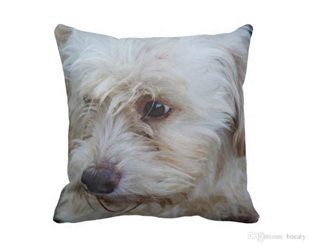 Adorabile cockapoo cucciolo mojo throw pillow 50% cotone e 50% lino colore materiale come mostrato 16x16inch 18x18 inch 20x20 inch