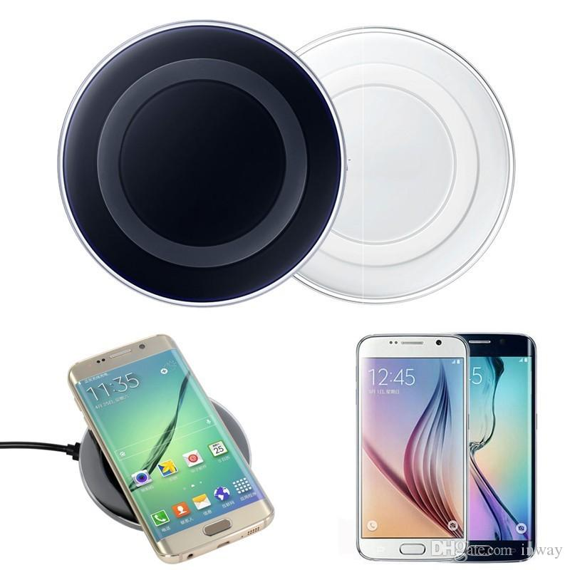 100% authentic b9b6f f81b4 2017 Universal Qi Wireless Charger Charging Pad For IPhone 7 Plus, For  Samsung Note Galaxy S6 Edge, HTC, LG Powerbank 2600 Mah Cell Phone Charging  Pad ...