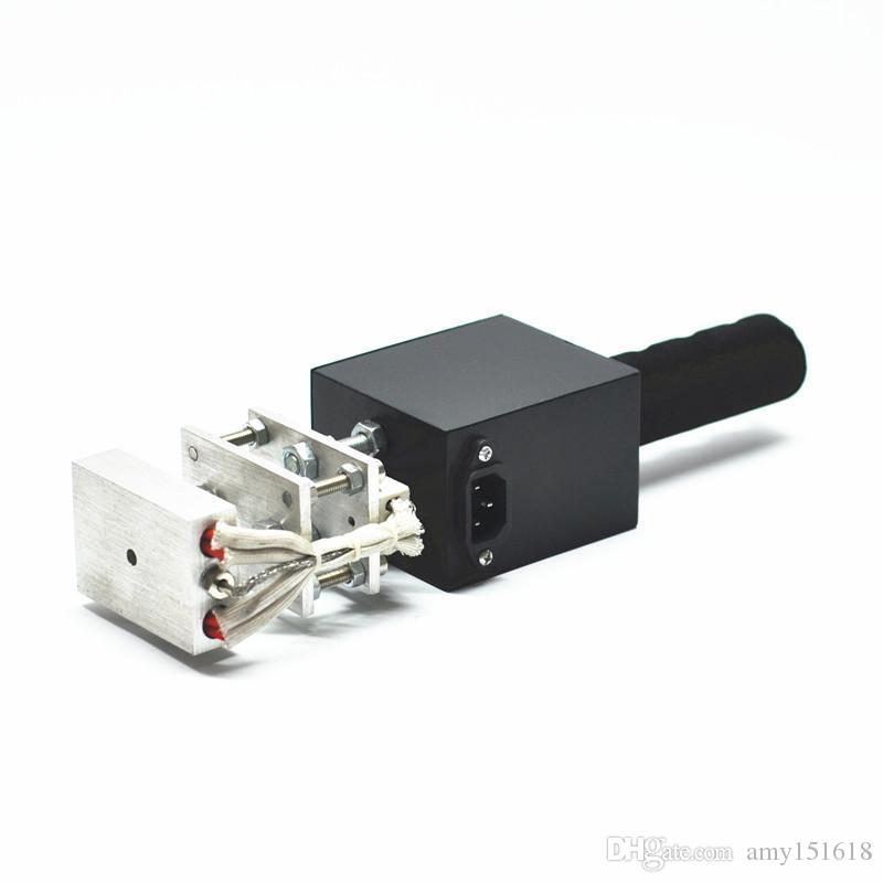 57 Handheld Hot folha de gravação máquina de estampagem máquina de marcagem com ferro quente impressora de couro máquina de marcação Marking Imprensa em madeira LOGOTIPO