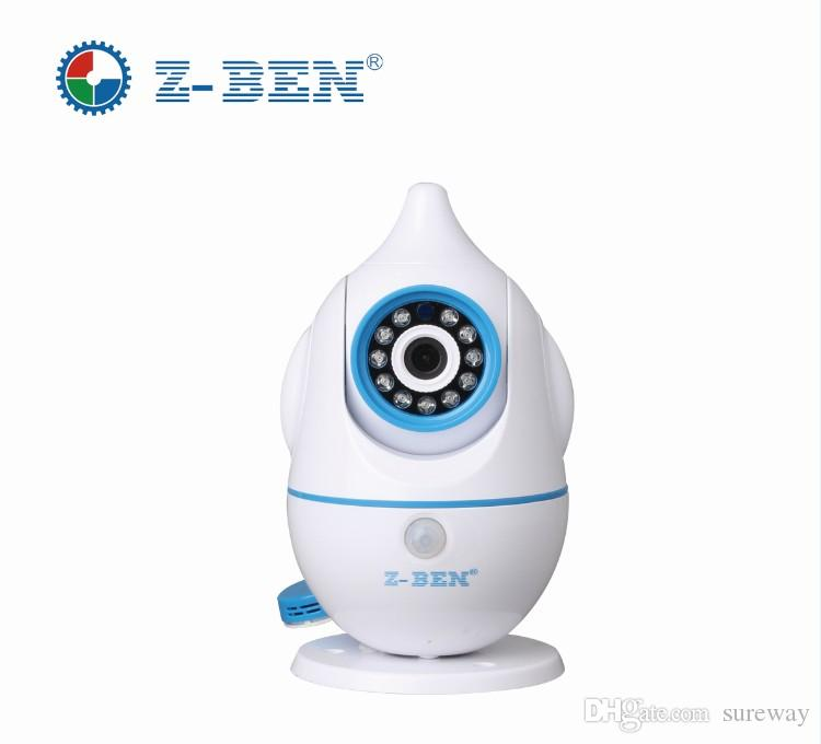 New Wireless Remote Control Baby Monitor With Night Vision intercom Voice WIFI Network IP Camera Electronic For MAC PC Phone