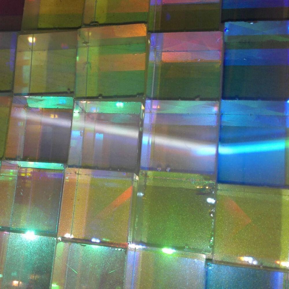Atacado-4pcs / lot 2X2X1.75cm Defective Cruz Dicroic X-Cube Prisma RGB Combiner ou Splitter Prism