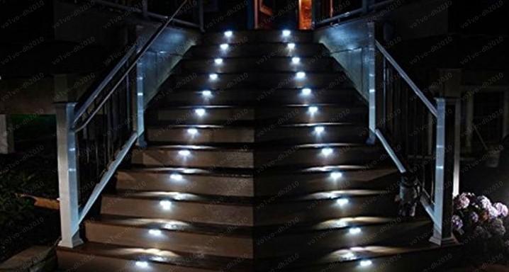 Acheter Led Escalier Lumiere 3w Lampes Souterraines Ip67 Pont Etape Pont Paitio Encastre Lumieres Creusees Sol Jardin Paysage Mur Exterieur Eclairage