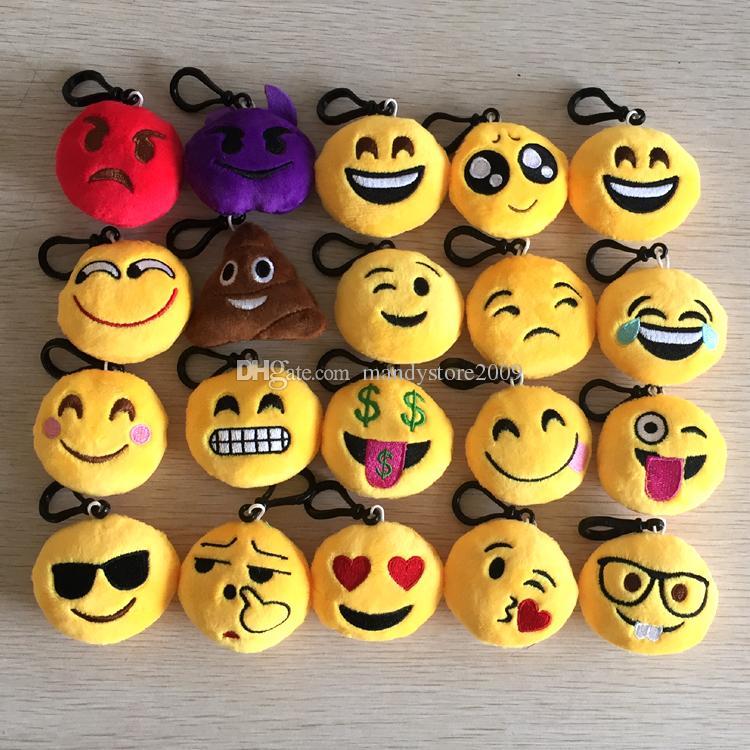 Emoji Plush Keychain