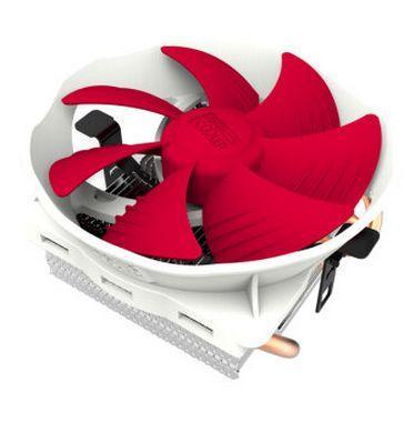 PCCOOLER 1pcs 12cm fan 4 heat pipes CPU cooler Ladybug V6 (QIXINGPIAOCHONG V6) Q127 for LGA1155/1156/775/AM3/AM2/AM2+/754/939