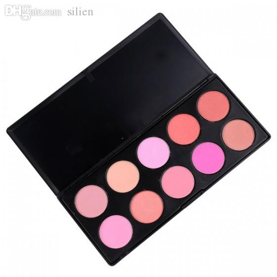 10 Color/SET Makeup Blush Face Blusher Powder Palette Cosmetics Maquiagem Professional Makeup Product free shipping