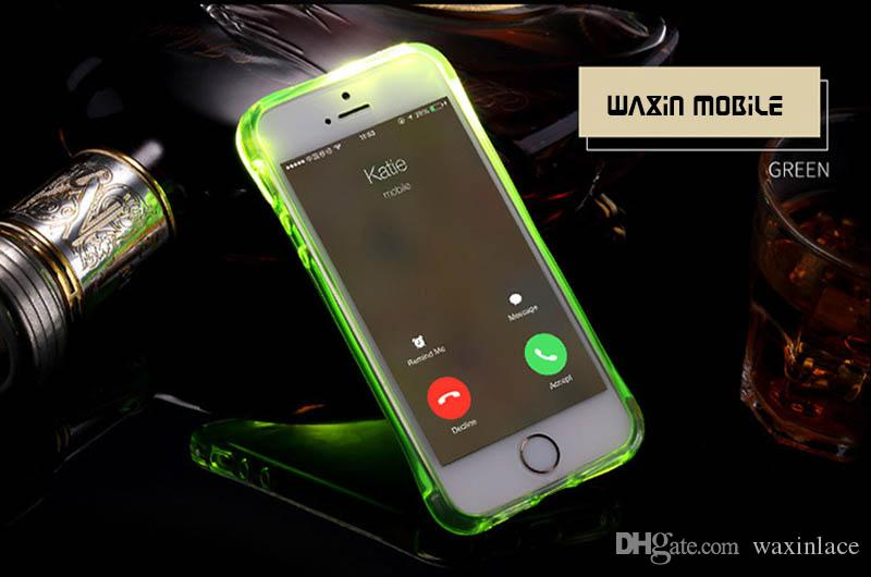 Luxury Led Flash Phone Case For IPhone 6 6s Plus Light Flash ...