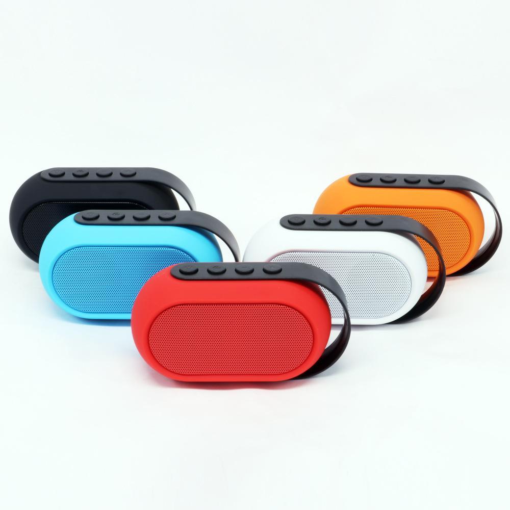 Mini Wireless Bluetooth Speaker LED Flashing Subwoofer caixa de som Boombox Support TF FM Radio Loudspeaker for Smart Phones