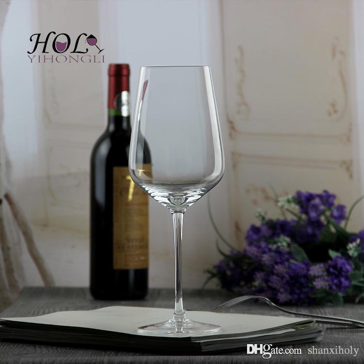 Kristall bleifreies High-End-Wein Tasse benutzerdefinierte Logo