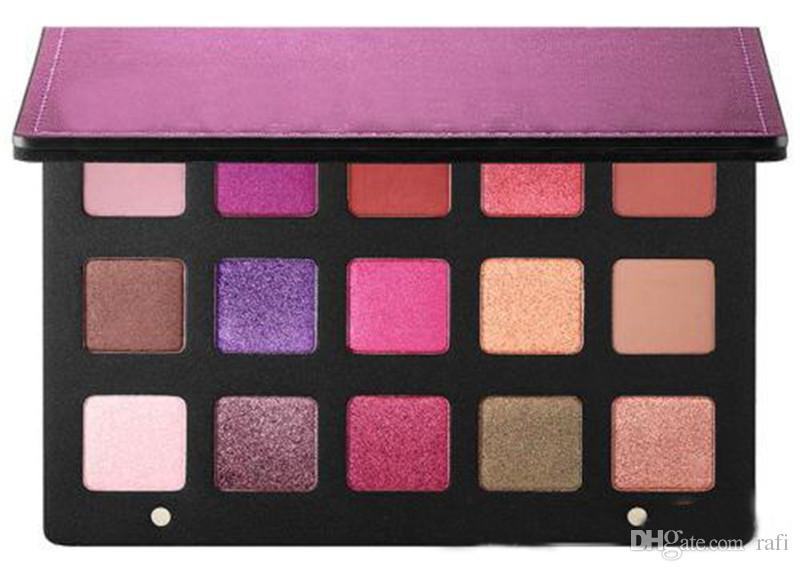 Hot Sale Brand Denona Eyeshadow Palettes 15 Color Eyeshadow Palettes Makeup Purple Eye Shadow Free shipping Best Price