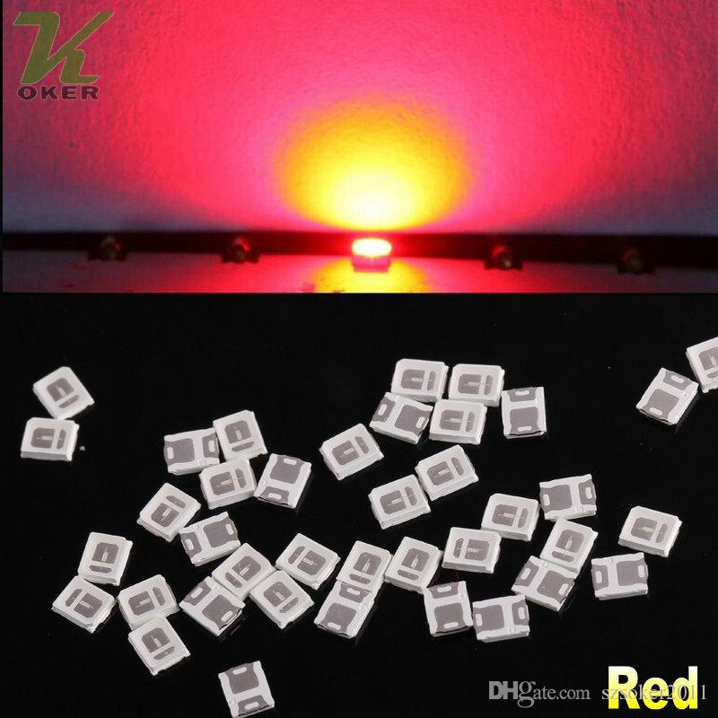28000pcs / Reel 0.1w SMD 2835 Diodi lampada a LED rossi ultra luminosi