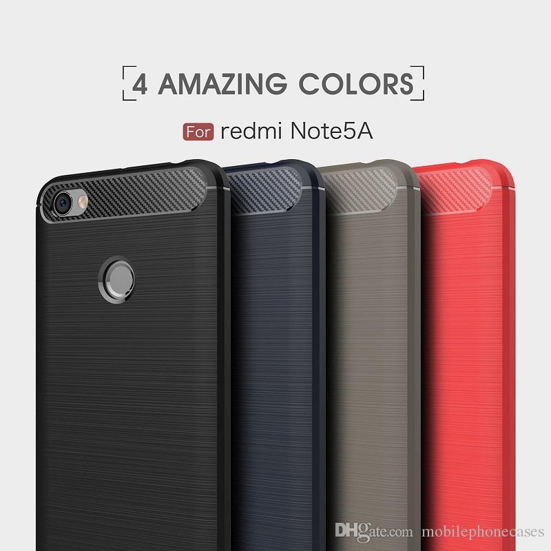 10 SZTUK Przypadki dla Xiaomi 5x Włókno węglowe Heavy Duty Shockproof Procedr Armor Case dla Xiaomi Redmi Note5a MI5C Redmi4x 4A MI max max2