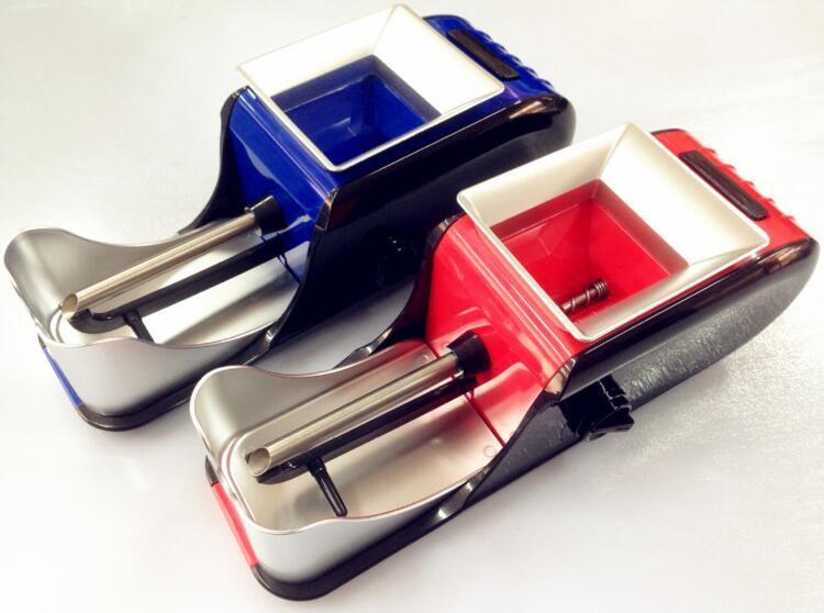 큰 자동 전기 담배 인젝터 롤링 기계 흡연 액세서리 담배 메이커 롤러 그라인더 향신료 분쇄기 abrader 마른 허브