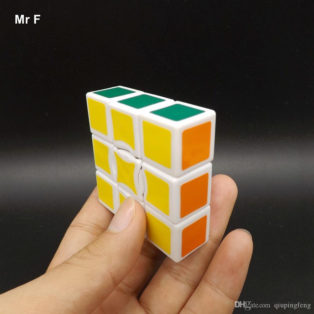 1x3x3 Cubo Mágico Rompecabezas blanco Cubo Niños Juguete Educativo Juego Regalos para niños