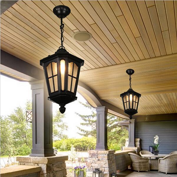 Iluminación exterior Luces de porche LED Patio al aire libre Luces Lámparas Pared Luces al aire libre Impermeable Puerto al aire libre Lámparas