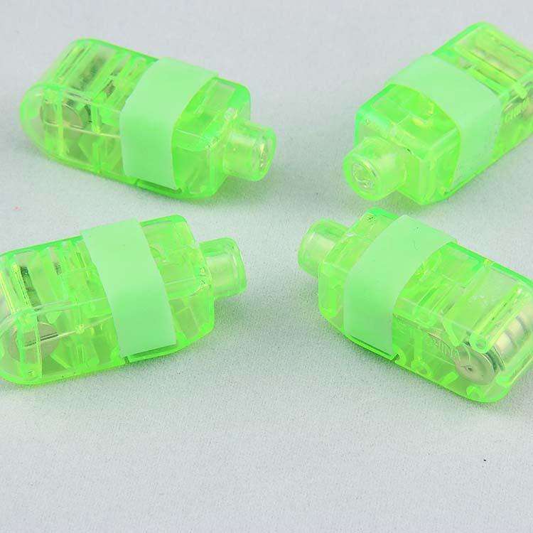 Licht Fingerlampe Laserlicht LED Licht emittierende Lampe Leuchtende Ring Bunte Kinderspielzeug Stallverkauf