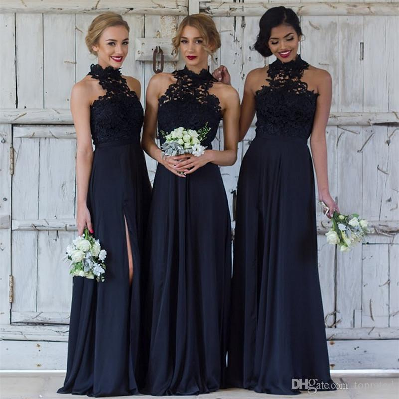 Cheap Navy Blue Bridesmaid Dresses For Wedding