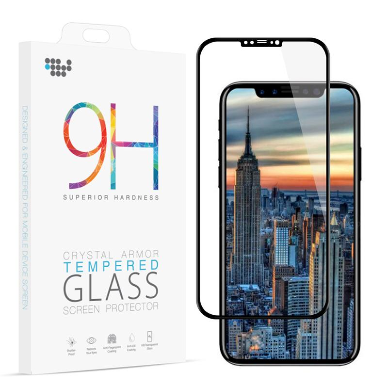 super popular b95f5 51a09 For IPhone X 3D Curved Full Coverage Tempered Glass Phone Screen Protector  Ultra Thin 0.33MM Flim For IPhoneX I10 Anti Glare Screen Protector Best ...