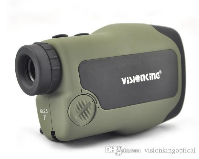 Visionking 6x25 CL Laser Localizador de Gama Monocular Scope 600 m Telescópios Medidor de Distância para o Golfe Perfeito Para A Caça Telêmetros
