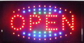 탑 판매 주도 로그인 네온 불빛 10 * 19 인치 실내 플라스틱 PVC 프레임 표시 무료 배송