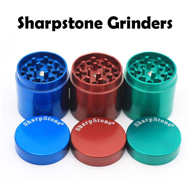 1 Sharpstone 55mm 4pc Grinder NEXT DAY SHIPPING Green