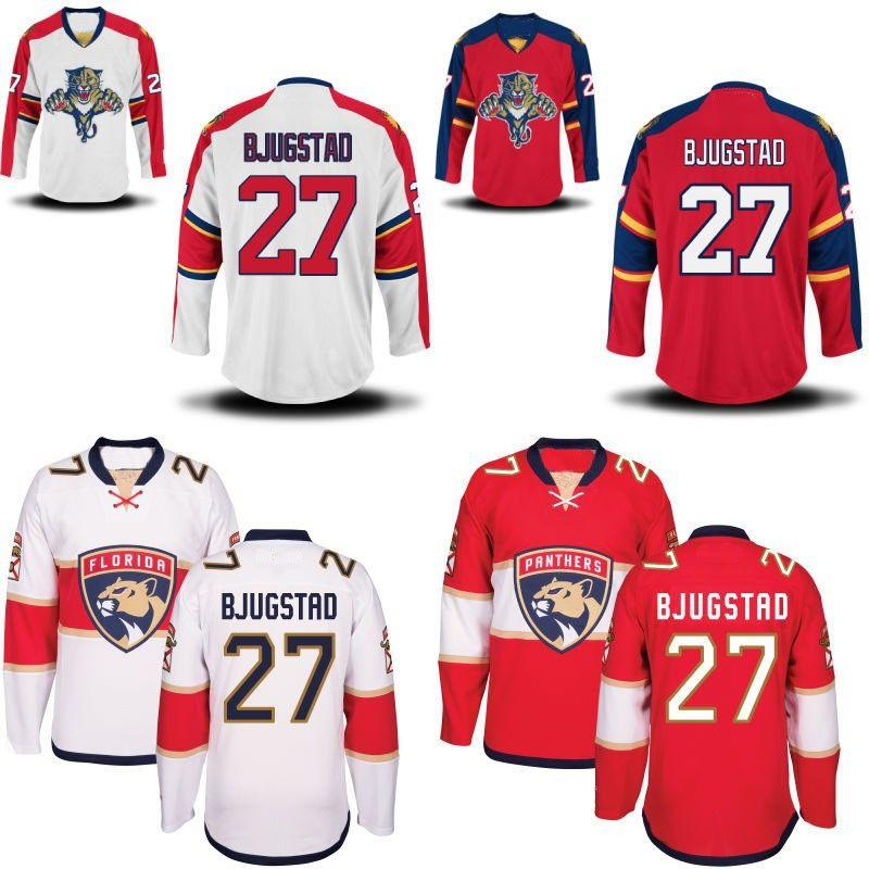 Lady Florida Panthers-Trikot 3 Keith Yandle 5 Aaron Ekblad 16 Aleksander Barkov 27 Nick Bjugstad 34 James Reimer Custom Hockey-Trikots