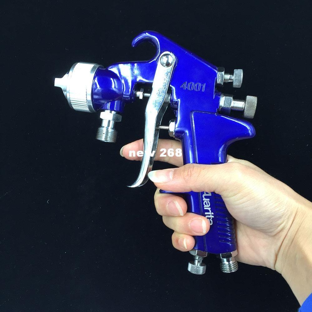 SAT1065 spedizione gratuita auarita spray cromatura aria vernice pistola vernice utensili pneumatici ugello aria 1.7 utensili ad aria