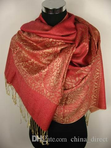 Jacquardscarf Shawl Wrap SCARF scarves Scarf LOTS OF COLOR 10pcs/lot #1921
