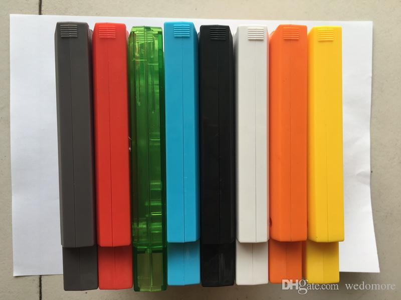 Para NES Hard Case Shell Substituição Para NES Jogo shell 72 PinBrand Nova alta qualidade ABS Plástico Shell para NES