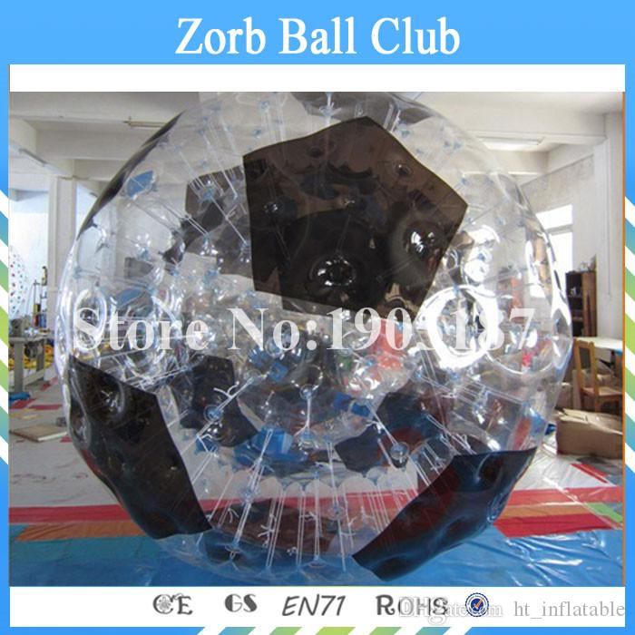 Free Shipping Transparent Big Inflatable Zorb Ball , 3m Dia Heat - Resistant Human Hamster Ball for Entertainment Game