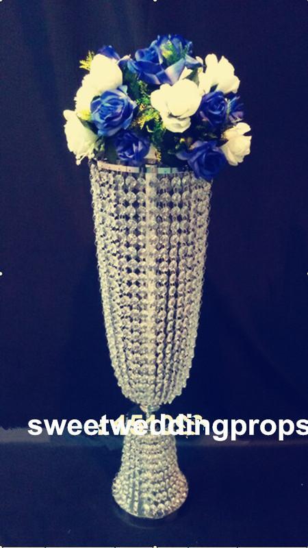 Crystal Stand Wedding Centerpiece Blumenständer