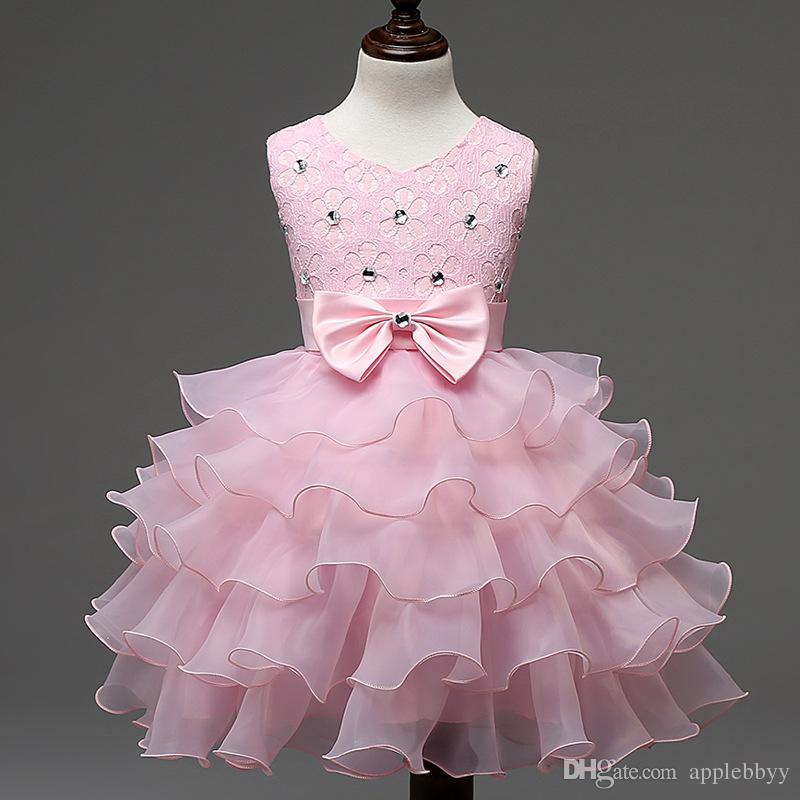 Vestidos para bebés Niñas Niños Fiesta de noche Baile de gala Niñas Vestidos de fiesta Primeros trajes de cumpleaños Niños Niñas Eventos Desgaste