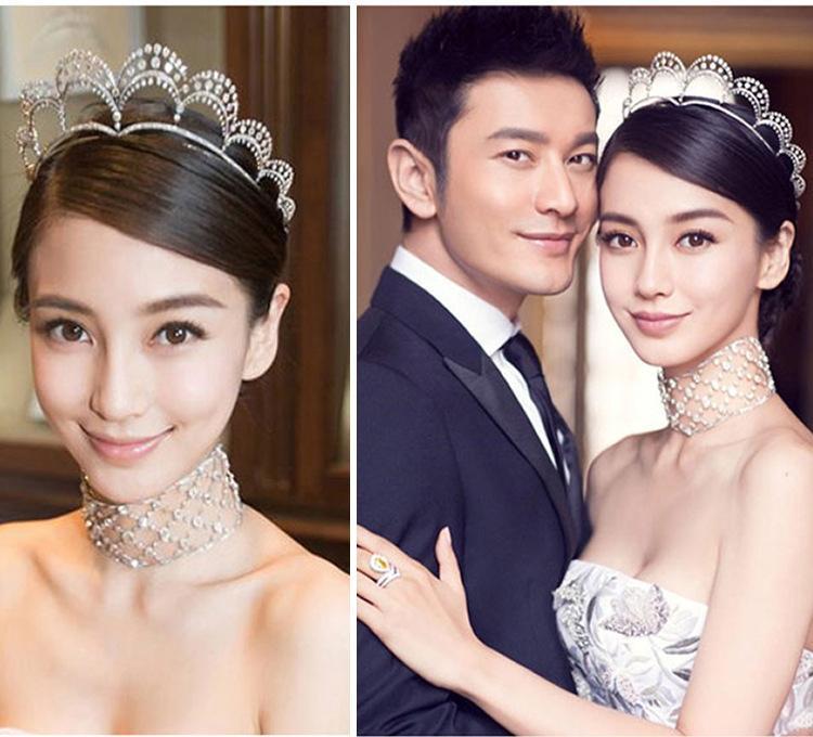 2016 Crystal Diamond Tiaras accesorios para el banquete de boda Impresionante fino nupcial peine accesorios de joyería moda nupcial cepillo de pelo