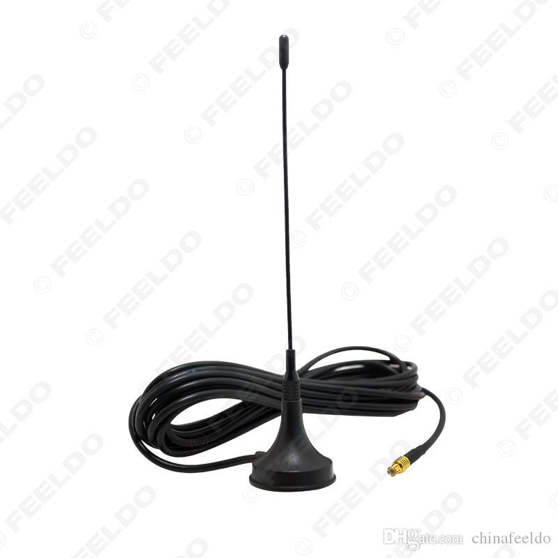 MCX conector do Active aérea com amplificador embutido Para Car Auto TV Digital stick-up Com base magnética SKU: 922