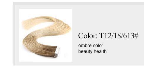 tape in colored hair extensions