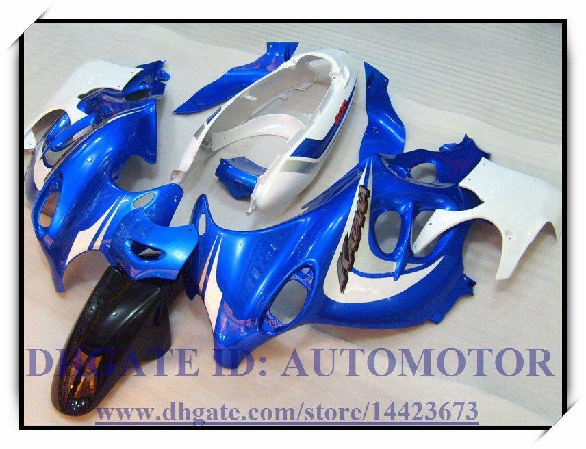 Nuovo kit carena ABS 100% per Suzuki GSX600F / 750F 2003-2006 2004 2005 Katana GSX 600F 03-06 Katana # FD682 BLU