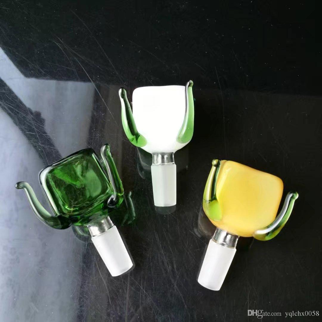 nuevos europeos y americanos de color caliente de cuatro mandíbula adaptador de vidrio de 14 mm